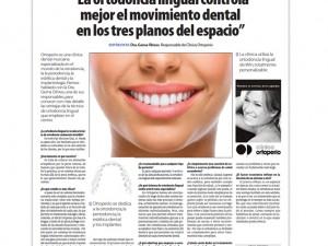 Entrevista en La Razón 2/ 3/ 2014.