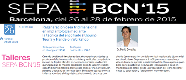 Taller y Hands on Workshop: Congreso Anual SEPA 1