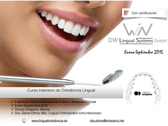 Curso de Ortodoncia Lingual Intensivo 4