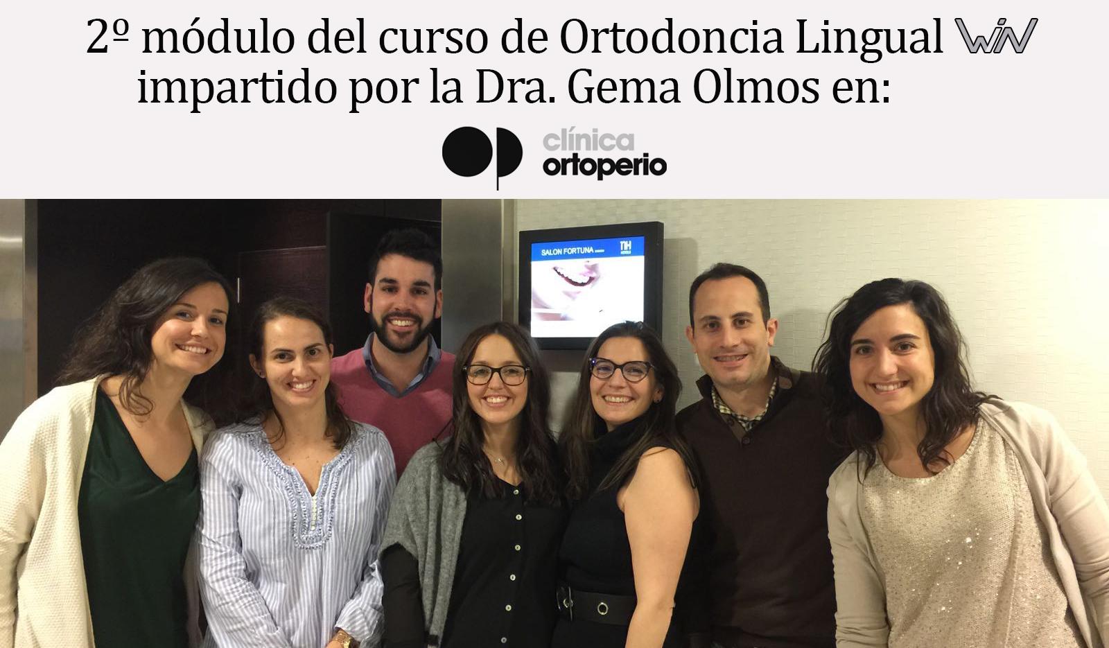 doctores en curso de ortodoncia lingual win