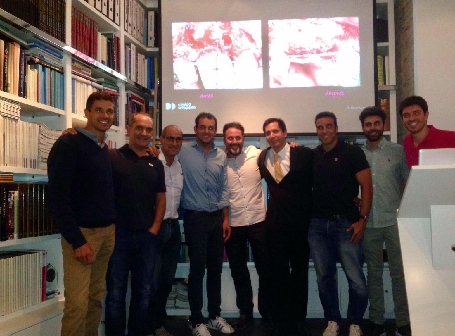 Compartiendo conocimientos de ROG 3D en el ITI Study Club de Málaga 1