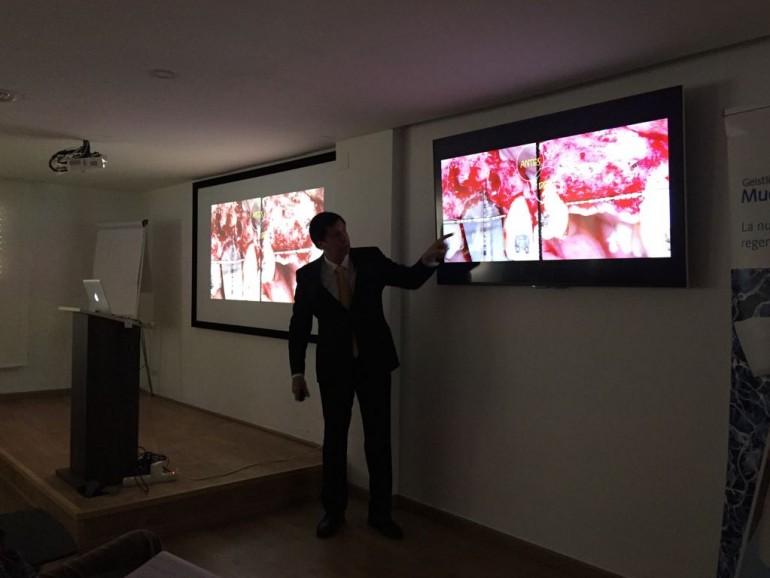Curso del Dr. González en el Colegio de Dentistas de Tarragona 1