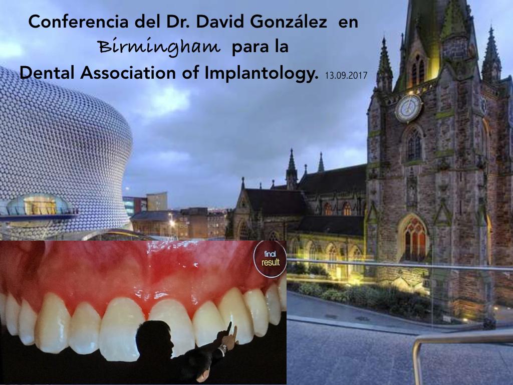 Conferencias Dr. David González en Gran Bretaña 3