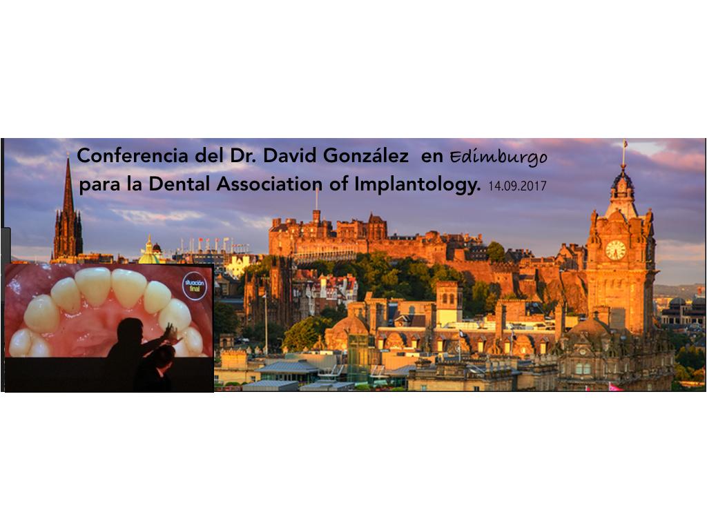 Conferencias Dr. David González en Gran Bretaña 2
