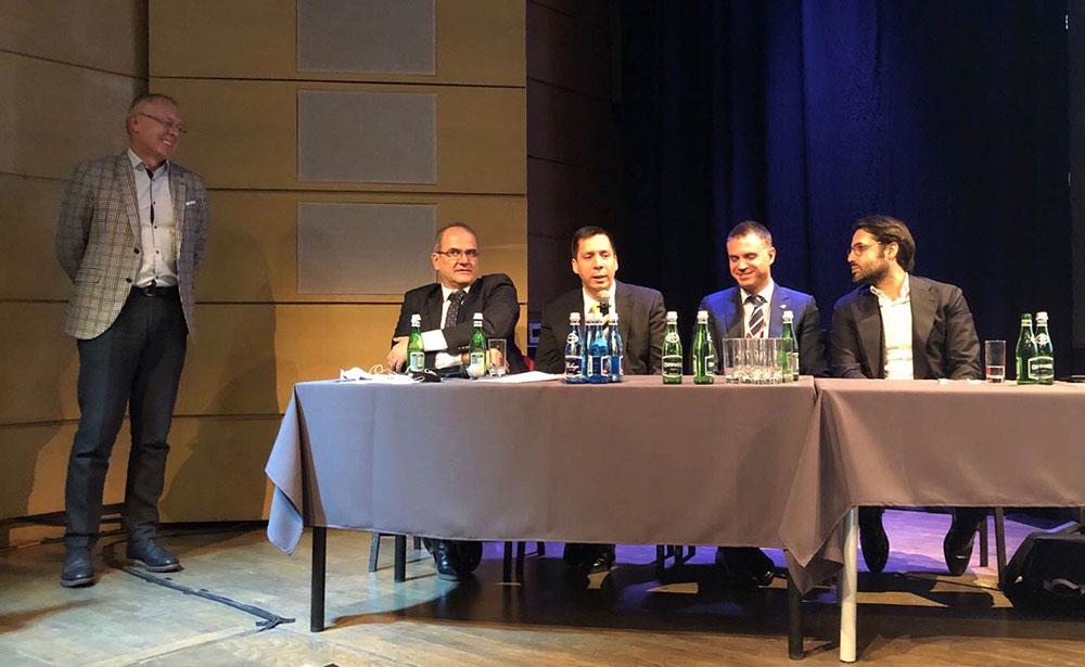 Conferencia del Dr. David González en el prestigioso congreso Dental Spaghetti que se celebra anualmente en Cracovia, Polonia. 10 de marzo de 2018. 3
