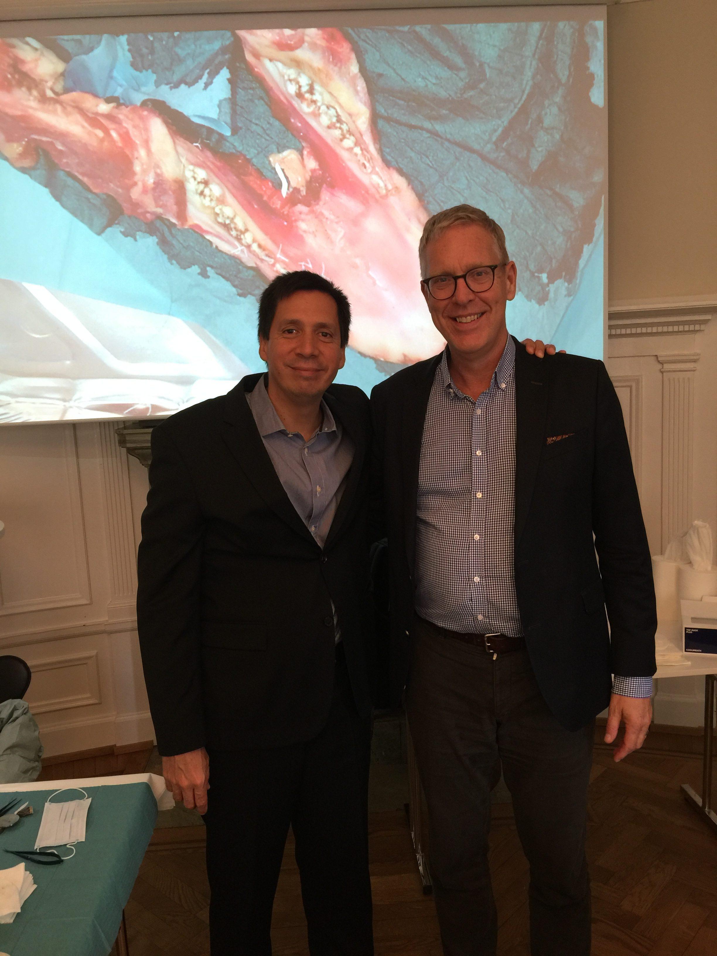 El Dr. David González impartió en Estocolmo, Suecia junto al Prof. Christer Dahlin 2