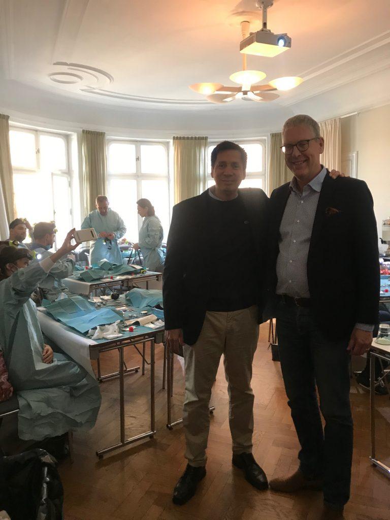 El Dr. David González impartió en Estocolmo, Suecia junto al Prof. Christer Dahlin 1
