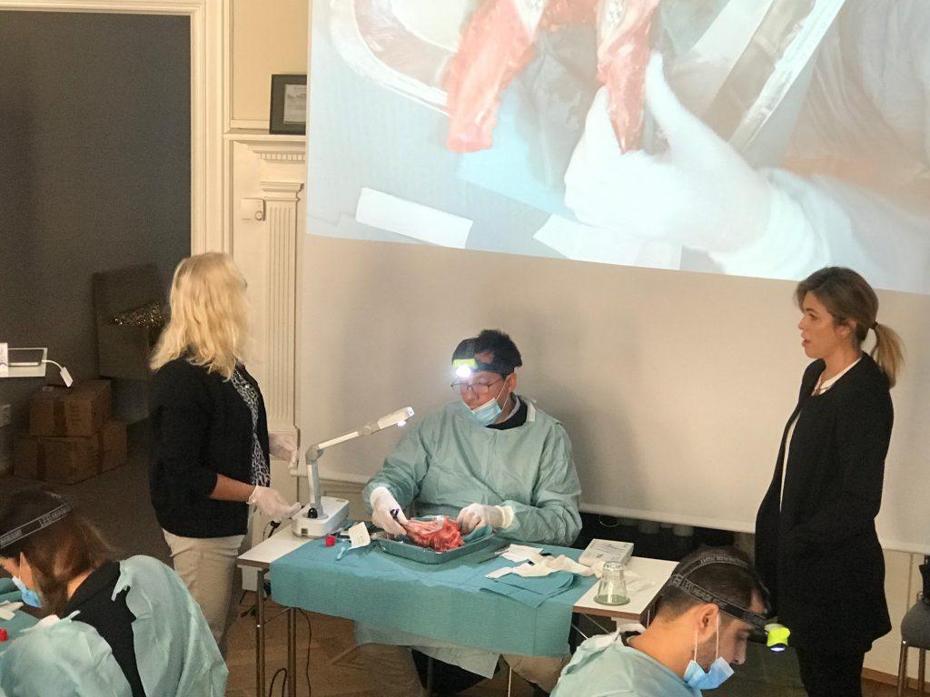 El Dr. David González impartió en Estocolmo, Suecia junto al Prof. Christer Dahlin 3