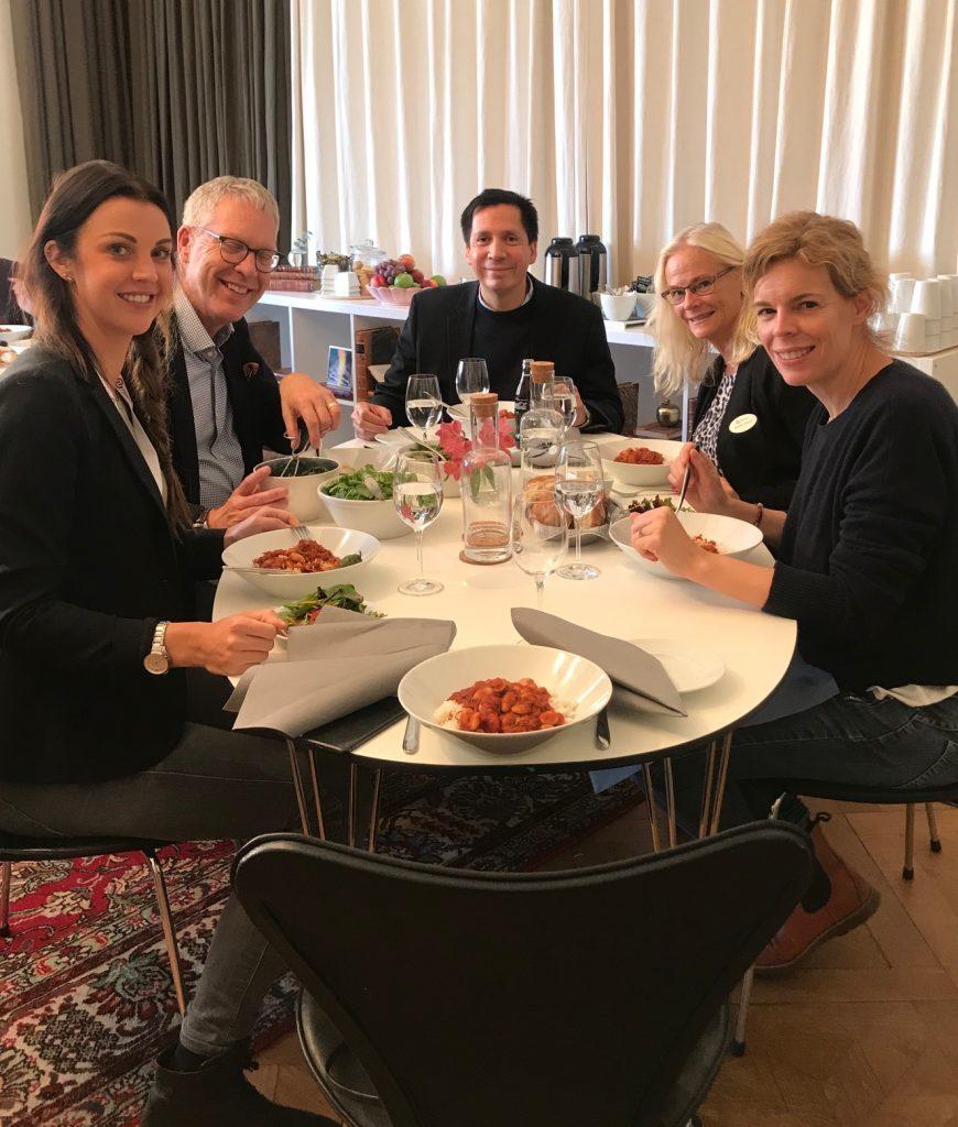 El Dr. David González impartió en Estocolmo, Suecia junto al Prof. Christer Dahlin 4