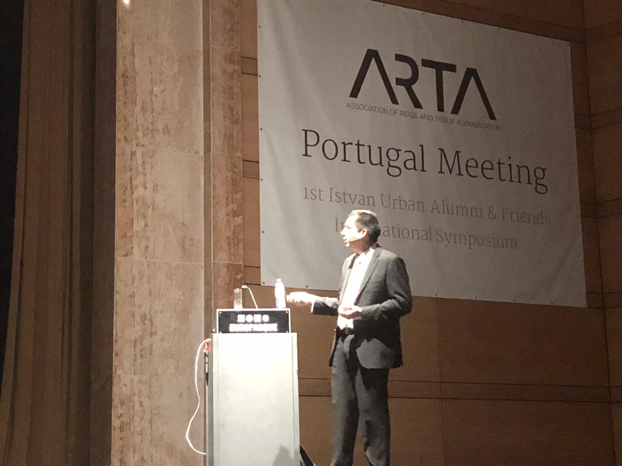 El Dr. David González impartió un curso en Oporto sobre Regeneración Ósea en implantes dentales 2